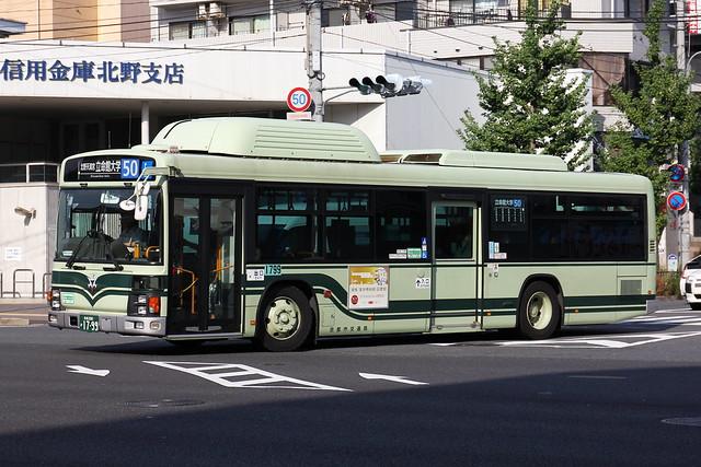 2016/09/01 京都市交通局 1799