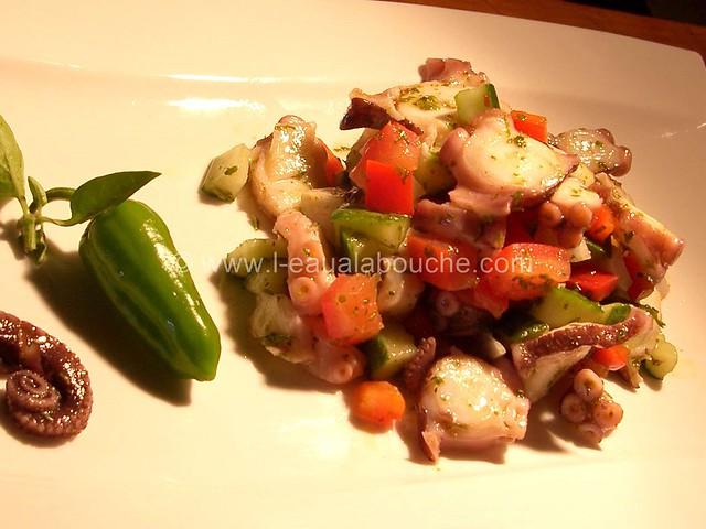 Salade de Poulpe Ensaladilla de Pulpo © Ana Luthi Tous droits réservés 010