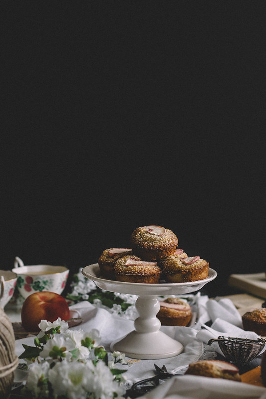 Peach, Cardamom & Pistachio Financiers // TermiNatetor Kitchen