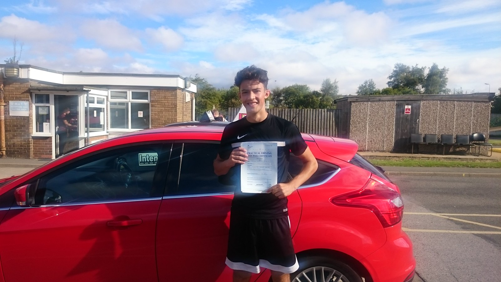 Haydn Fulton passes driving test in Grimsby with 21st Century Driving