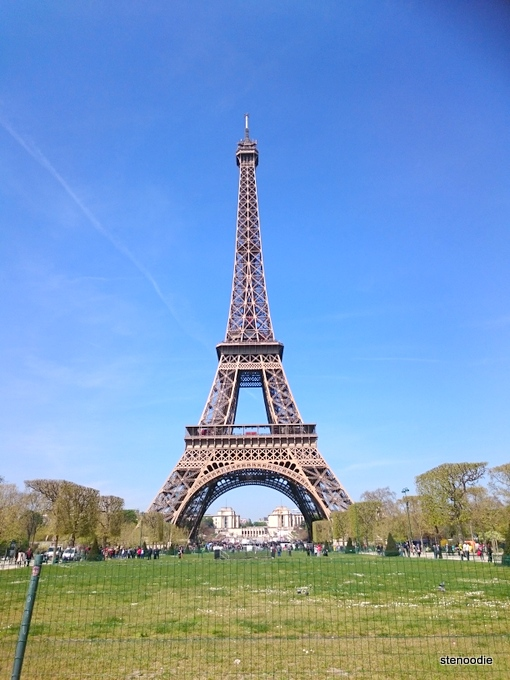 Eiffel Tower In April