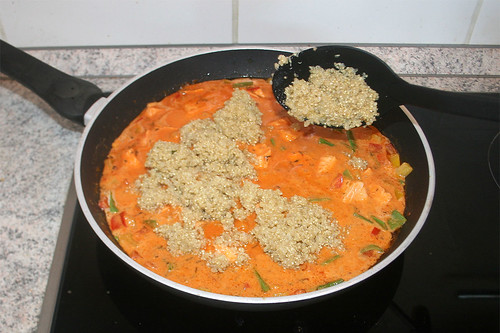 40 - Quinoa hinzufügen / Add quinoa