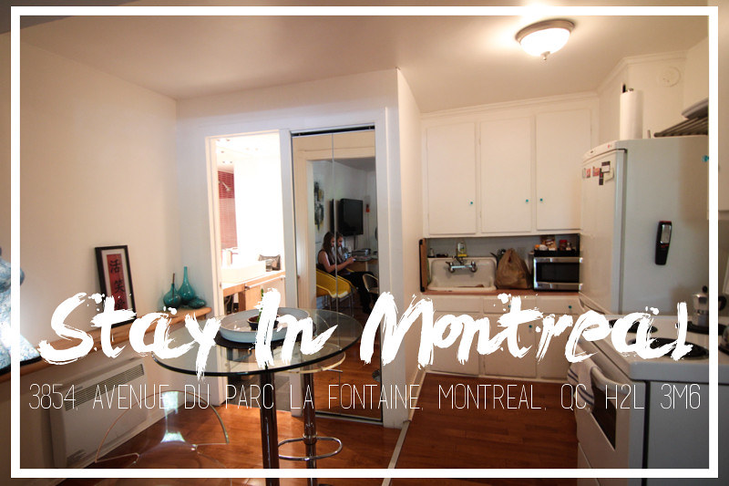 stay in montreal apartment