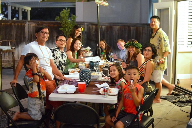 August 2016 Family Dinner