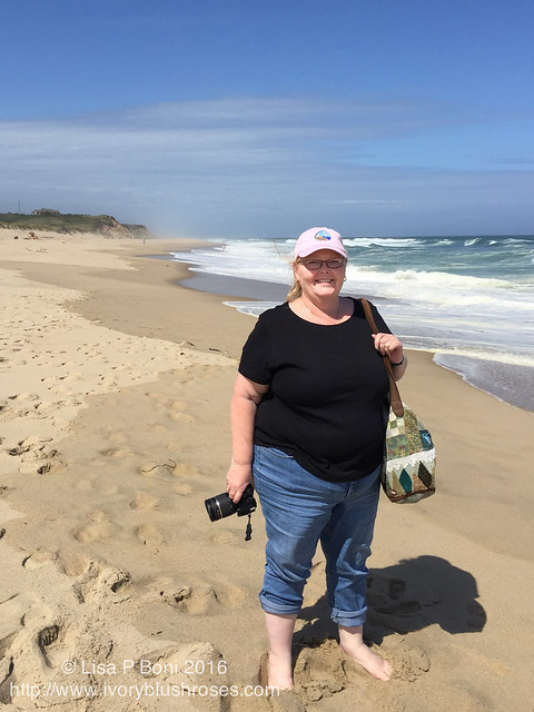 Lisa at Nauset Beach