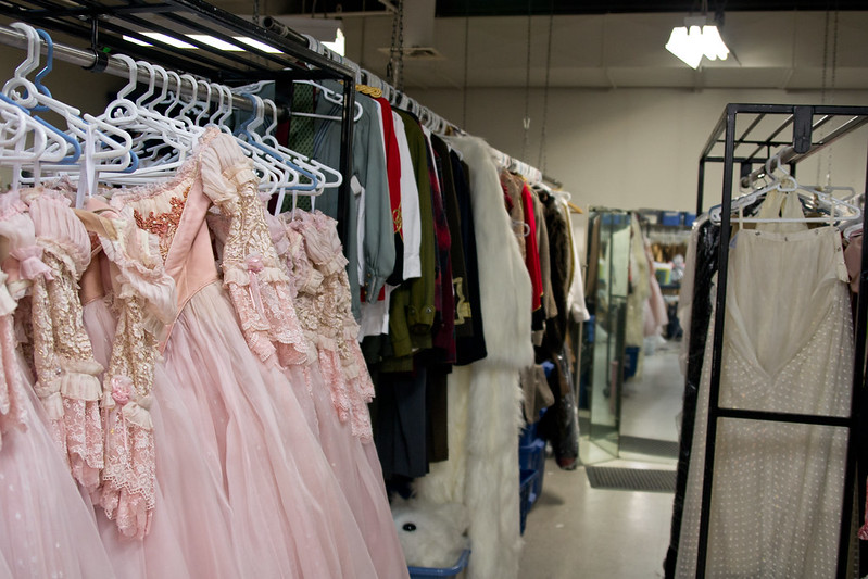 Costumes to be prepped for The Nutcracker