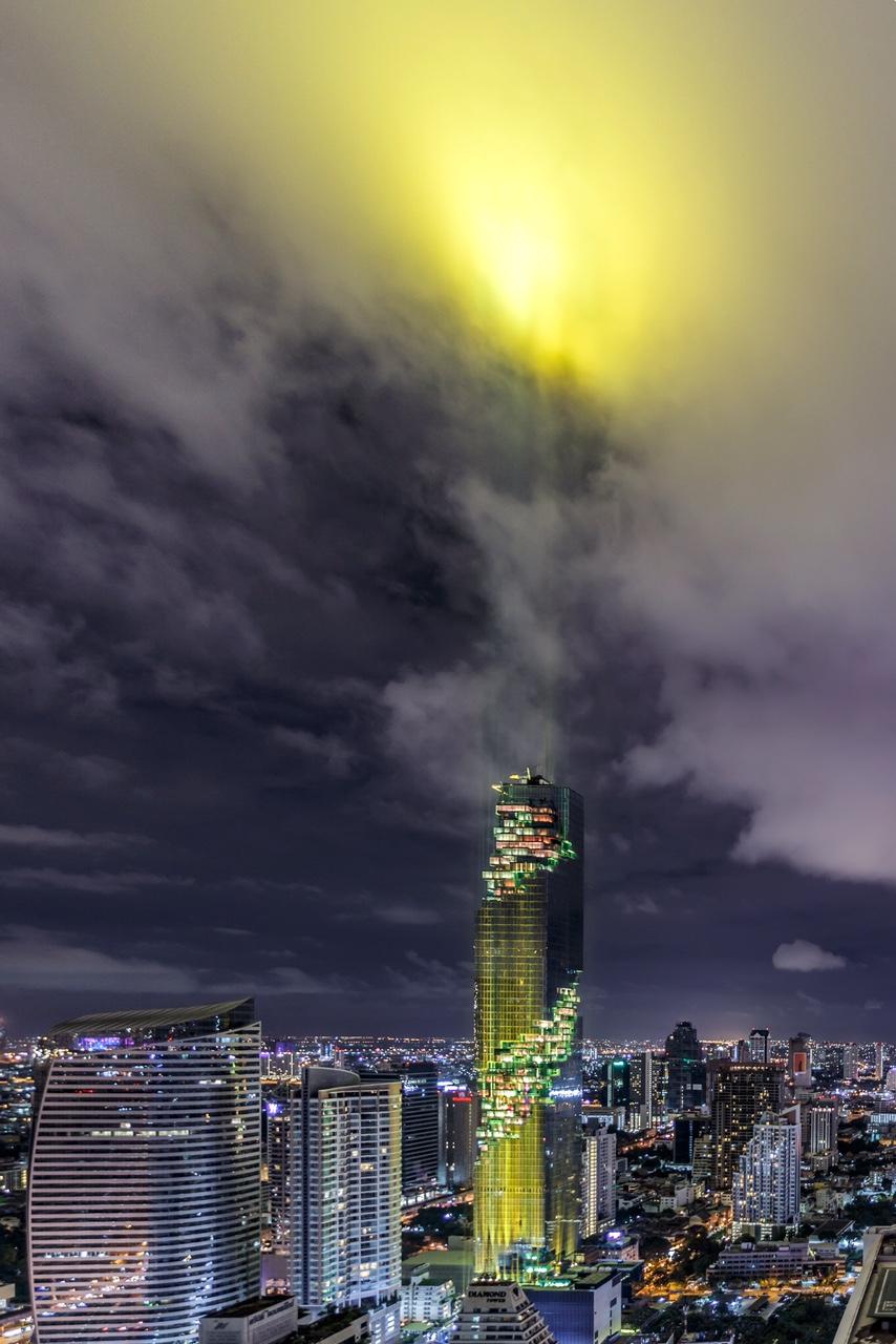 Высочайшее здание Таиланда MahaNakhon Tower