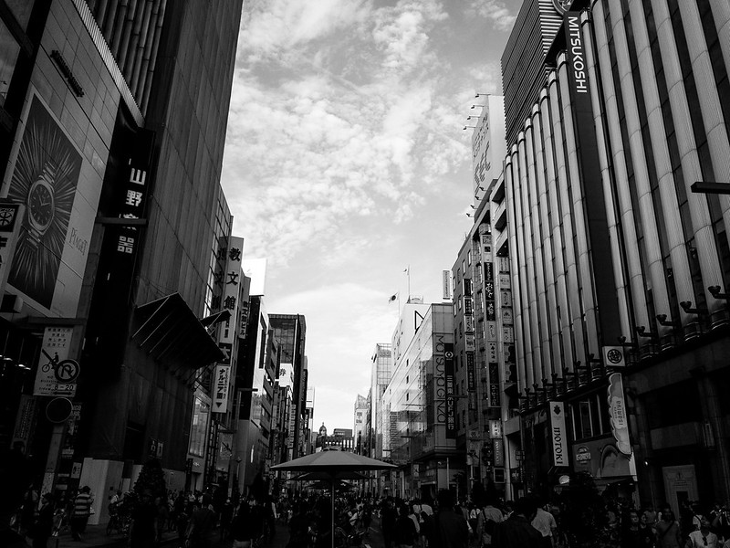 Ginza Tokyo - iPhone7 - DNG app Lightroom mbile