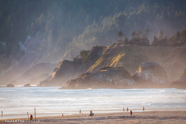 Ecola State Park from Cannon Beach