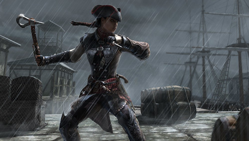 Assassin's Creed III Liberation for PS Vita - Connor's Tomahawk | by PlayStation.Blog