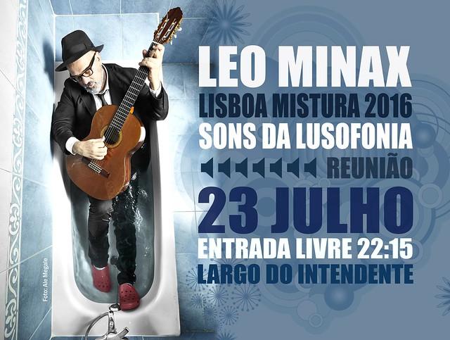 LEO MINAX - LISBOA MISTURA 2016