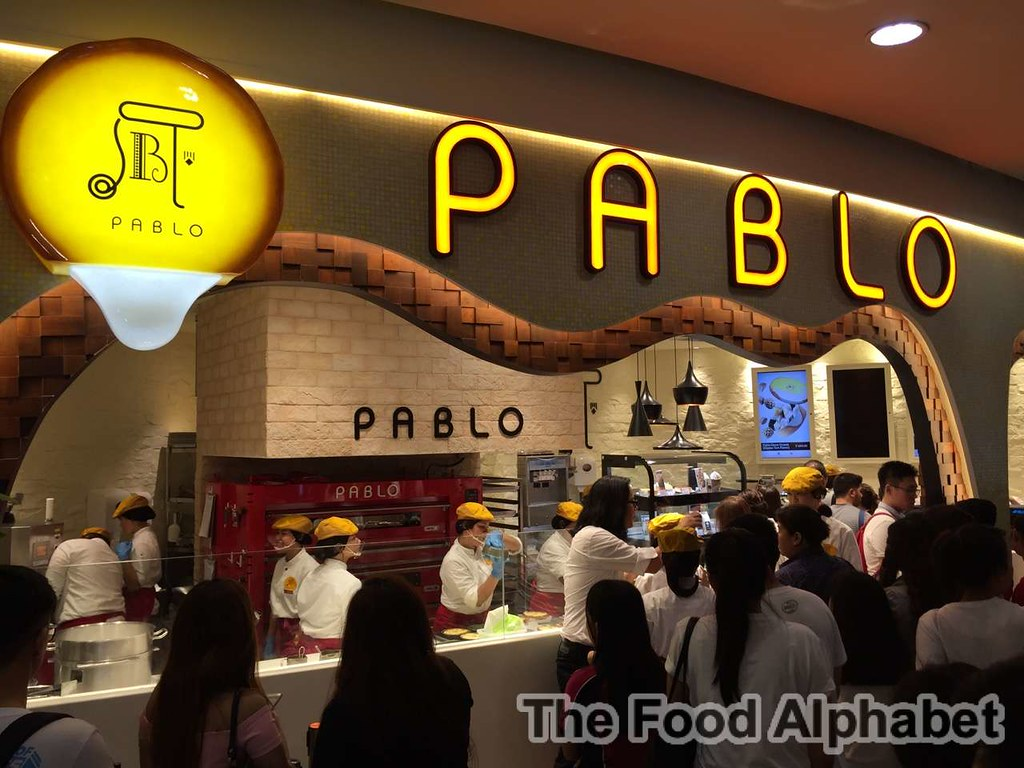 The Food Alphabet And More Pablo World Famous Osaka Cheese Tart Sabrel Matcha Opens First Branch In Manila