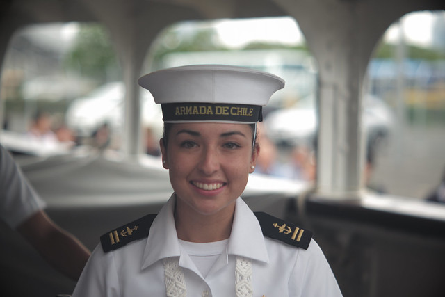 B.E. Esmeralda sailors