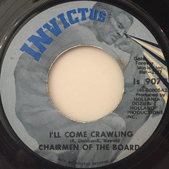 CHAIRMEN OF THE BOARD:(YOU'VE GOT ME)DANCING ON A STRING(LABEL SIDE-B)