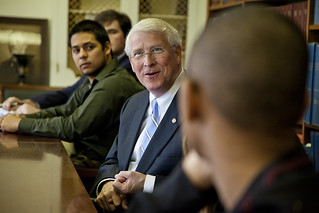 Roger Wicker visits Millsaps | by Millsaps College