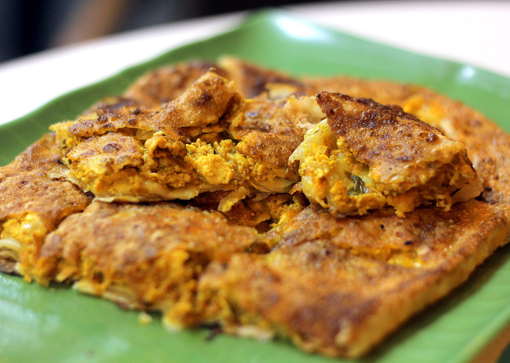 R K Eating House chicken murtabak