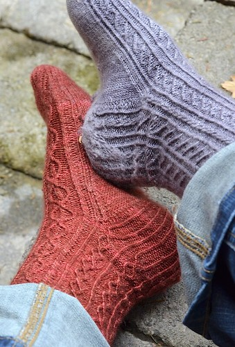 Nov1-Pilling-Socks2 | by crazyknittinglady