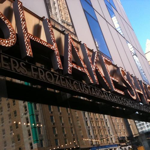 Shake Shack, 8th Ave., NYC. Nueva York