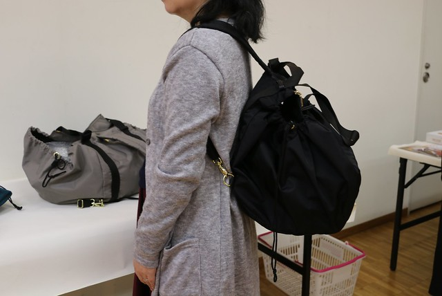 フェリシモ レジかご用バッグ 大量買 ビッグなリュック
