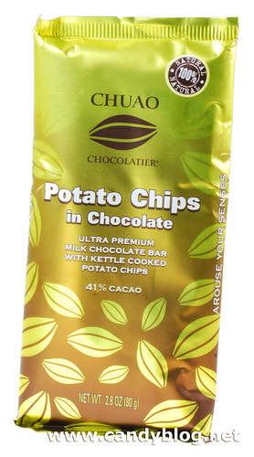 Chuao Potato Chips in Chocolate 41% Cacao | by cybele-