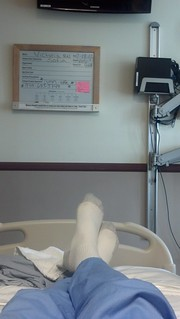 Feet in my hospital bed -- July | by EmperorNorton47