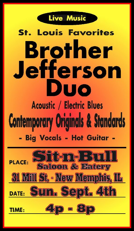 Brother Jefferson Duo 9-4-16