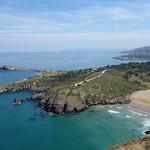 DSC05606 vers l'est, la plage de Sonabia et le cap Cebollero