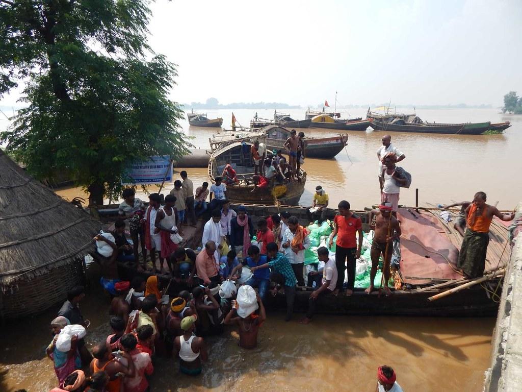 Flood Relief, Maner block, Patna District, Bihar