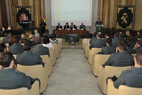 El director general de la guardia civil inaugura las xv j for Director de seguridad ministerio del interior