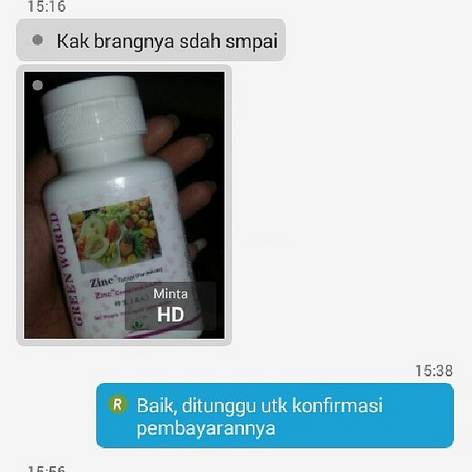 Zinc Tablet Anak Green World