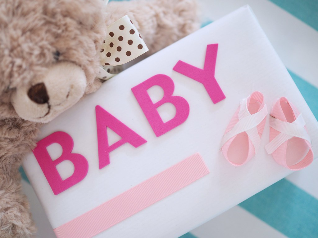 Baby Shower -lahja äidille