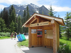 Entrance to Lake Louise