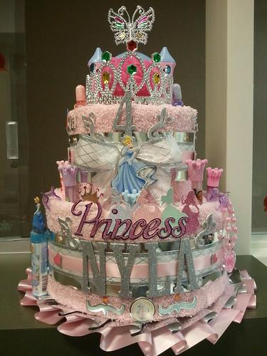 Birthday Cinderella Cake