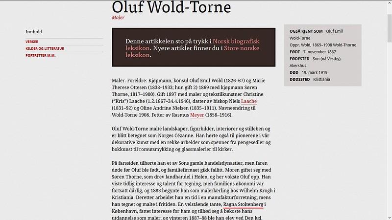 mer om wold thorne stoltenberg paint