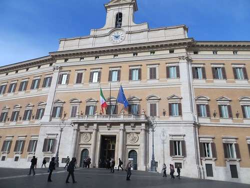 Piazza Monte Citorio building 2
