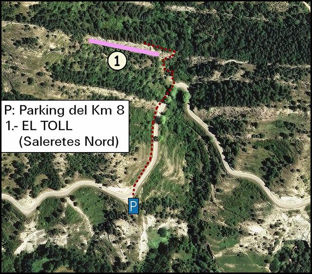 El Toll (Saleretes Nord) -03- Acceso 01