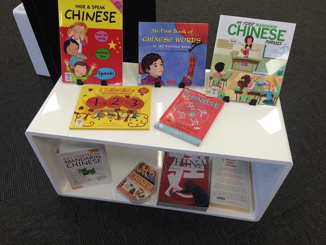 Chinese language learning books