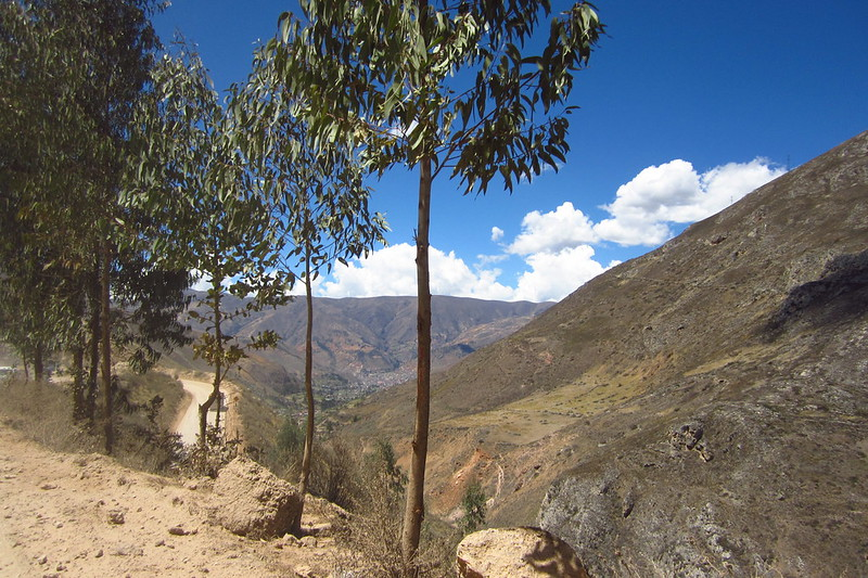 Descending to Tarma, Junín, Peru