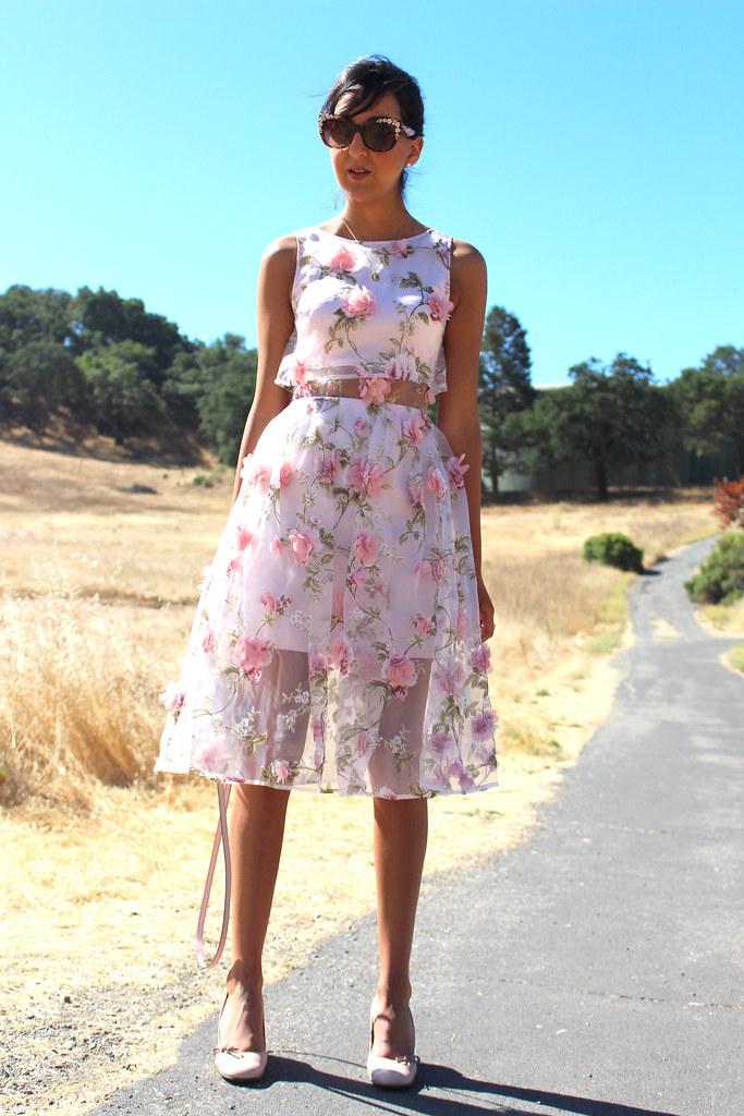 3D Floral Dress 7