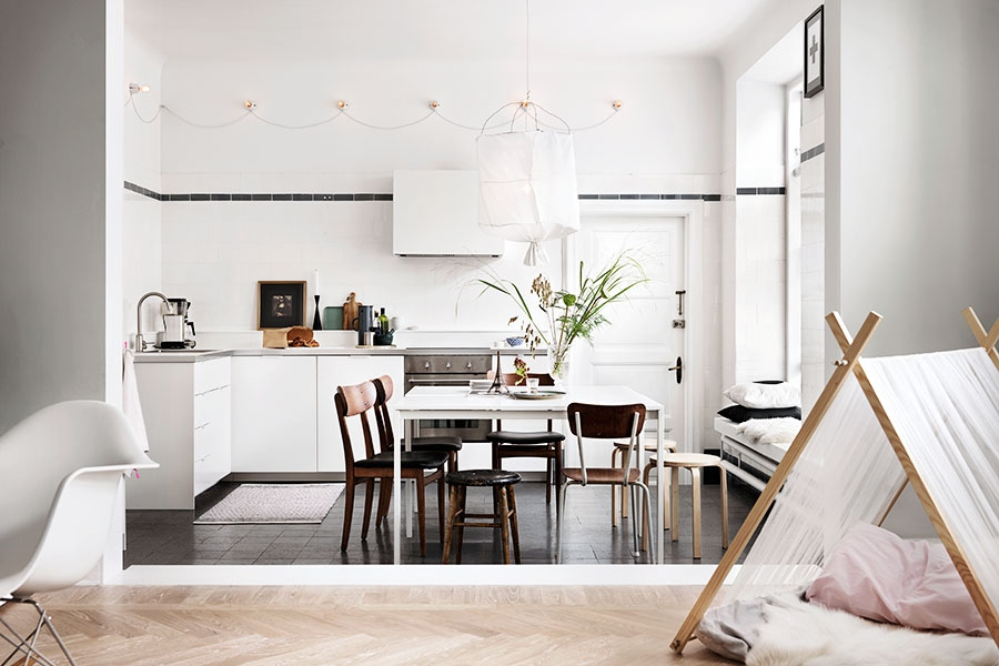 A Stylish Home in an Old Milk Shop