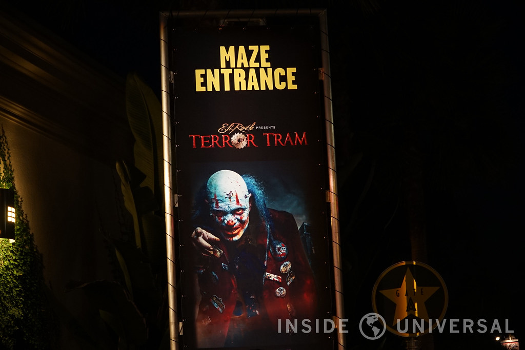 Eli Roth Presents Terror Tram (2016) - Halloween Horror Nights at Universal Studios Hollywood