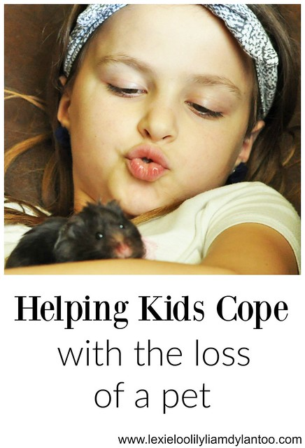 Helping Kids Cope with the Loss of a  Pet