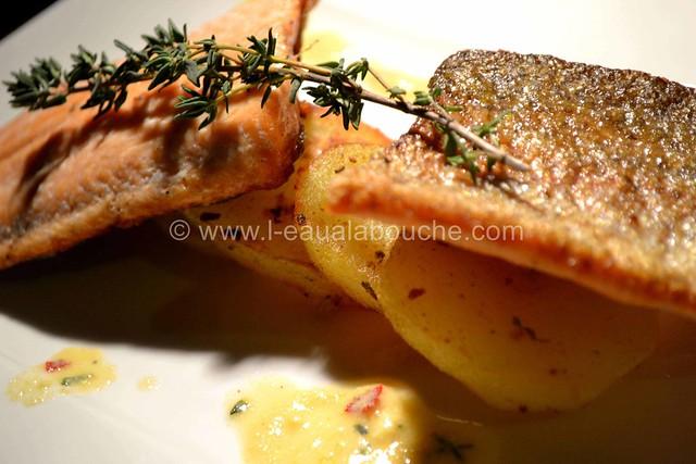 Filet de Truite Grillée sur Peau  © Ana Luthi Tous droits réservés 017