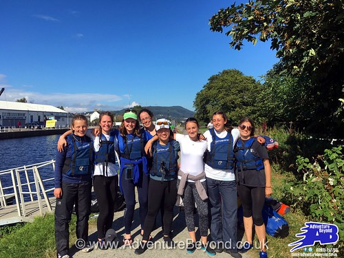 DofE Gold expedition on the Great Glens Canoe Trail 2016