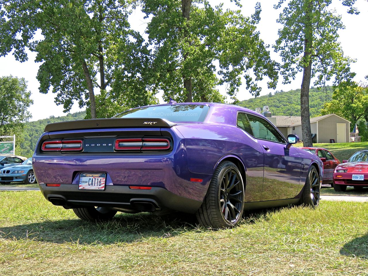 Purple Dodge Challenger Hellcat 4