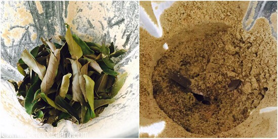 Curry Leaves Powder Recipe for Toddlers and Kids - step 6