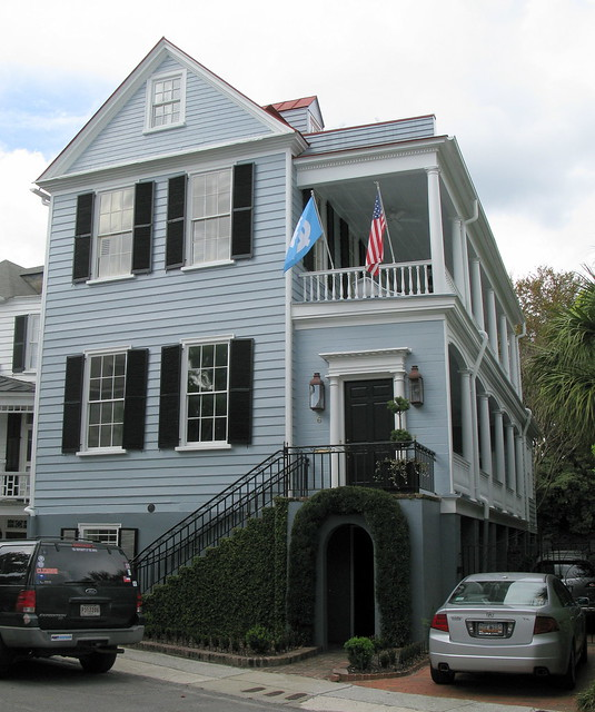 The Fancis Saltus House (c.1820s), 6 Water Street, Charleston, SC