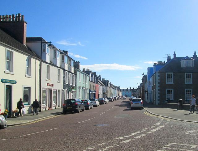 a street  Kirkcudbright 2