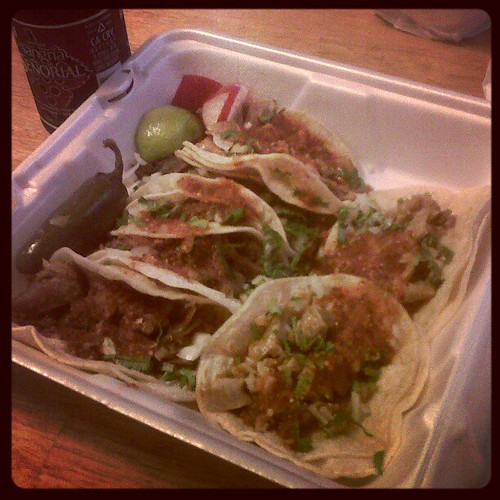 Mexican Food Tacos De Buche