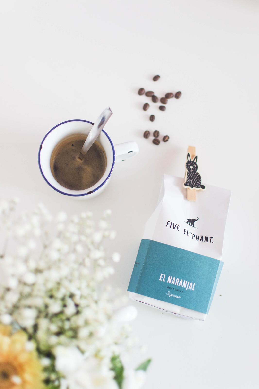 Five Elephant espresso coffee